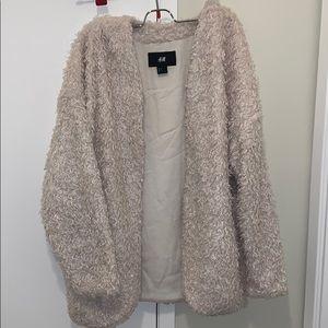 H&M Jackets & Coats - H&M Faux Fur Jacket